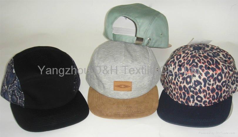 Fashion Design Custom Flat Brim Snapback Cap 3