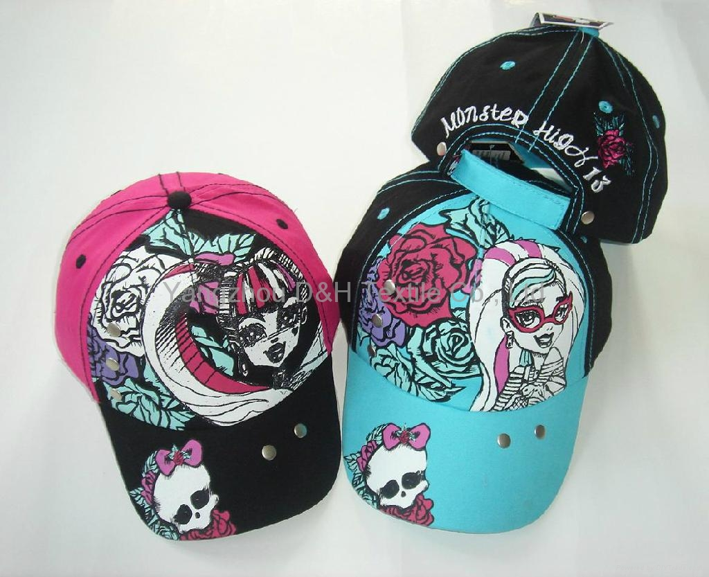 stylish Colorful Fashion Child baby  cool america cap