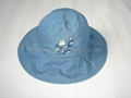 Basic Cotton Sun hat/Bucket hat/Fish hat