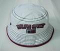 Basic Cotton Sun Bucket Fish hat