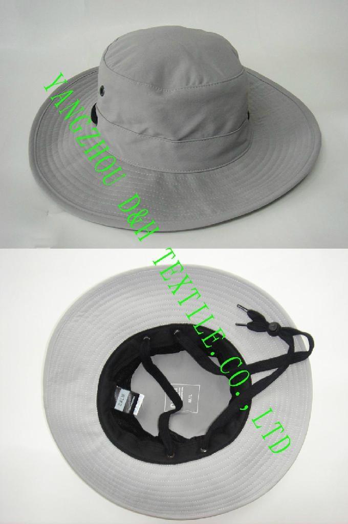 HOT Big Brim Pigment Washed Hat 3