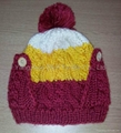 Fashion Ladies' Knitted Hat with Pompom/Crochet Hats  3