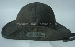 2014 Hot Big Brim Cotton Military Sun Hat Bucket Hat