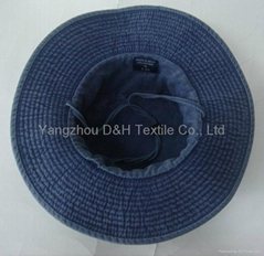 2017 USA Regular Basic Hot 100% Cotton Big Brim Pigment Dyed Washed Hat