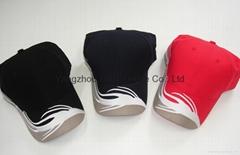 Polyester Micro fiber Jockey 6panel Gorras baseball cap