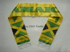 Ployester Football Fans Scarf /Promotion (DH-LH6183)