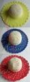 Women Paper Straw Wide Brim Hat /Sunhat (DH-LH9124)