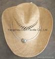 Raffia Straw Surf Hat Candana  Cowboy Straw hat 4