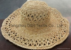 New Products 2014 Wholesale Straw Hat, Lady Straw Hat Cheap Made in China