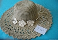 Cheap and Elegant Lady Straw Hat Straw Boater Hats Cheap