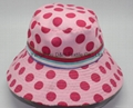 Fashional Lady Cotton Printing Sun Hat