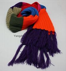 Fashional Popular Cotton Knitted Scarf/Warm Scarf