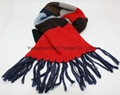 Fashional Popular Cotton Knitted Scarf/Warm Scarf
