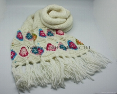 Popular White Cotton Kn