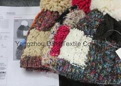Fashion Hook Flower Knitted Hat /Cotton Hat/Warm Hat