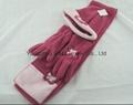 Hot Polar Fleece Sets/Hat/Gloves/Scarf 4
