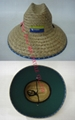 Cowboy stetson Straw sun  boater hat
