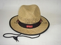 Promotion Straw Boater Hat Custom Straw