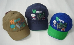 Offset Printing and Embroidery Kid Baseball Cap
