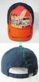 Fashion Car Printing Cotton Child Baseball Cap