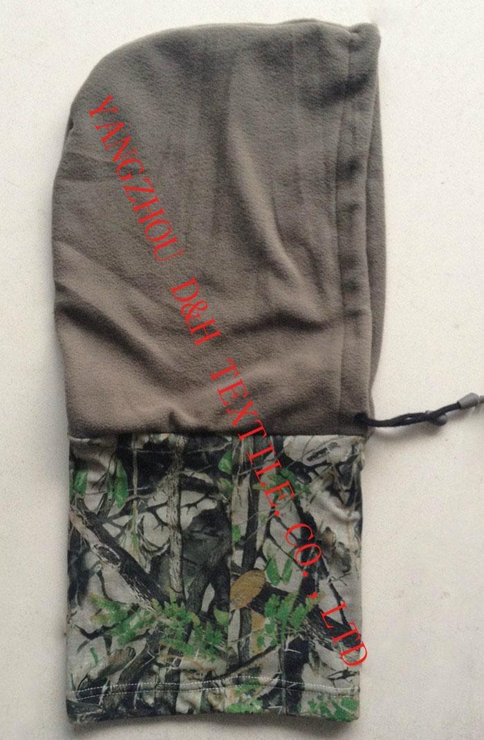 Camouflage polar fleece Winter Cloak Warm Earflap Hats  1