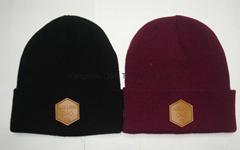 Acrylic Beanie Hat, Knit