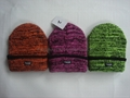 Thick Knitted Gague Beanie, Crochet Hat