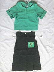 Polyester School student uniform work wear Cloth