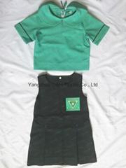 Polyester School student uniform work wear Cloth