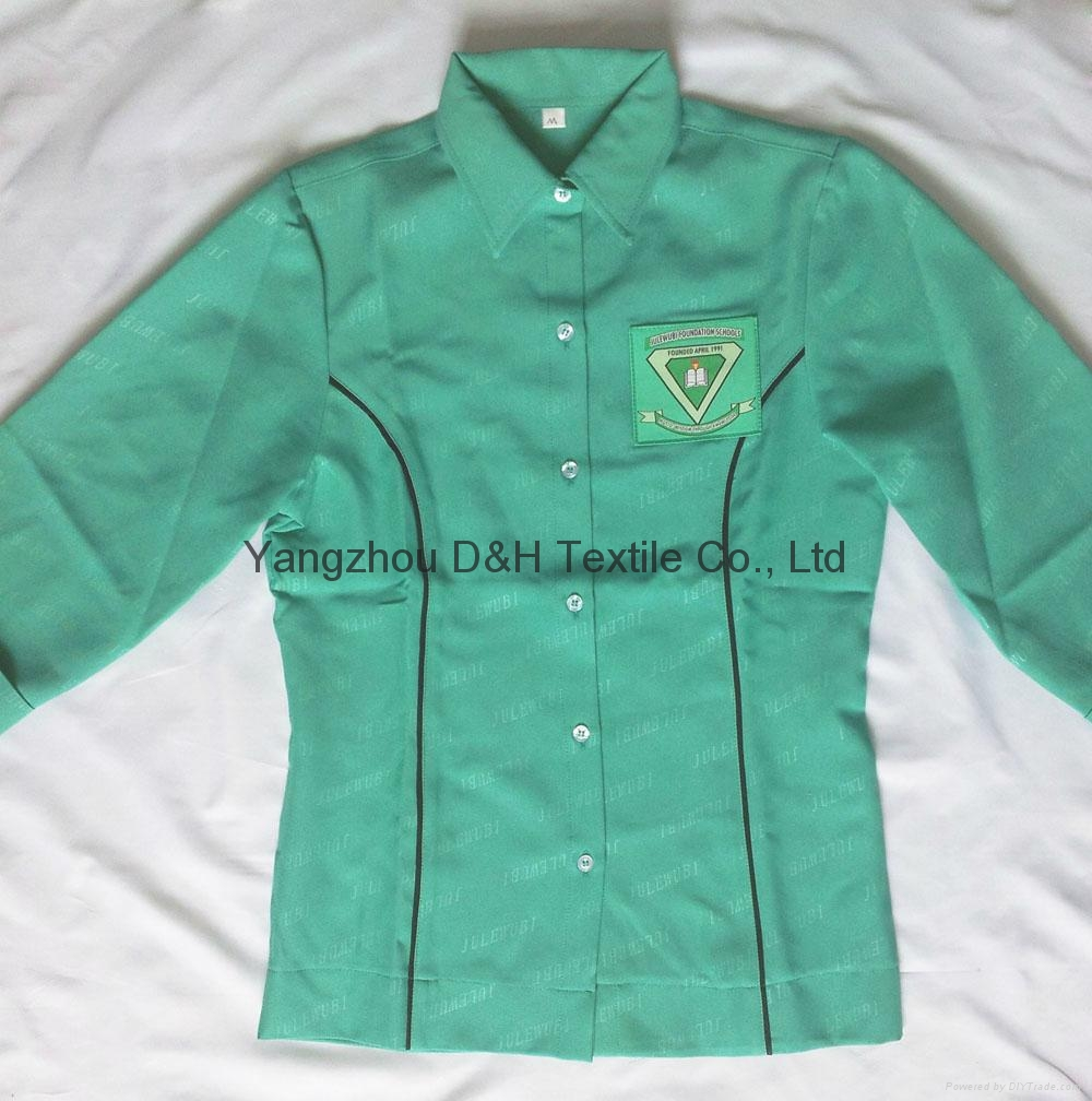 Polyester School student uniform work wear Cloth 2