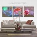 2016 HOT Optical Fiber (NOT LED) luminous painting  flash decoration painting