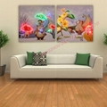 2016 HOT Optical Fiber painting decoration painting dynamic frameless painting 1