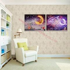 2016Optical fiber (not LED) luminous painting, flash decoration dynamic painting