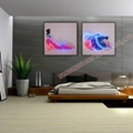 Optical Fiber Luminous Painting Modern Home Decoration Painting