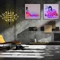 Optical Fiber Luminous Painting Modern
