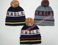professional Knitted crochet hat warm glove scarf beanie 7