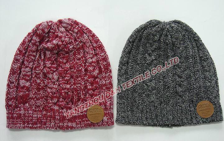 professional Knitted crochet hat warm glove scarf beanie 2