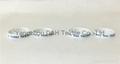 Aluminlum Silicone Banding Customized Silicone Bracelet Wristbands 3
