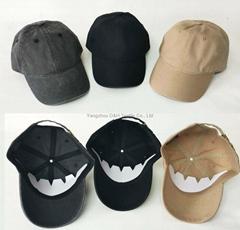 New Basic Era Pigment Wash Baseball Plain Caps