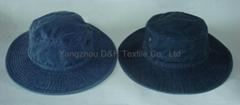 USA Regular Basic Hot 100% Cotton Big Brim Pigment Dyed Washed Hat