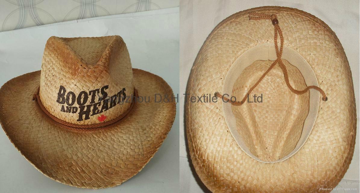 Raffia Straw Surf Hat Candana  Cowboy Straw hat 2