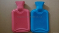 Good quality hot-water bag with soft  polyester cover