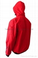 Quality Nylon Red Jacket Work Cloth Workwear Apparel labour suit 3