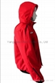 Quality Nylon Red Jacket Work Cloth Workwear Apparel labour suit 4
