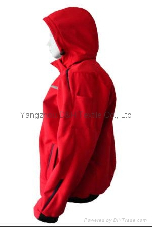 Quality Nylon Red Jacket Work Cloth Workwear Apparel labour suit 5