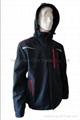 Quality Dark Blue Soft Shell Jacket Work Cloth Workwear Apparel Sh
