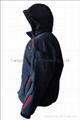 Quality Dark Blue Soft Shell Jacket Work Cloth Workwear Apparel Sh
