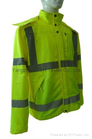 High Quality Green Nylon Jacket Work Cloth Workwear Apparel Coverall 2
