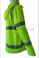 High Quality Green Nylon Jacket Work Cloth Workwear Apparel Coverall 4