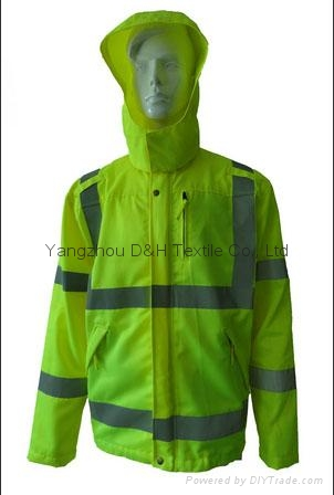 High Quality Green Nylon Jacket Work Cloth Workwear Apparel Coverall 1